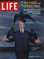 Life Magazine, February 1, 1963 - Alfred Hitchcock and The Birds