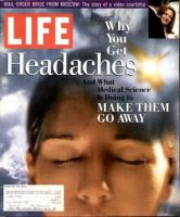 Life Magazine, February 1, 1994 - Curing Headaches