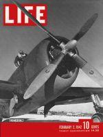 Life Magazine, February 2, 1942 - U.S. warplanes