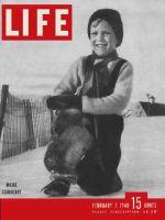Life Magazine, February 2, 1948 - Maine schoolboy