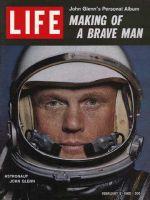 Life Magazine, February 2, 1962 - John Glenn, astronaut