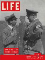 Life Magazine, February 3, 1941 - Goebbels and Goering