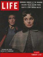 Life Magazine, February 4, 1957 - Ferrer and Hepburn