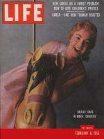 Life Magazine, February 6, 1956 - Shirley Jones