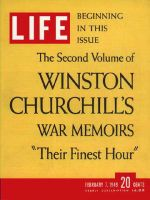 Life Magazine, February 7, 1949 - Churchill's memoirs