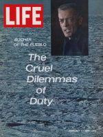 Life Magazine, February 7, 1969 - Commander Lloyd Bucher of the U.S.S. Pueblo