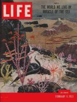 Life Magazine, February 9, 1953 - Ocean's geography