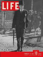 Life Magazine, February 10, 1941 - Lord Halifax