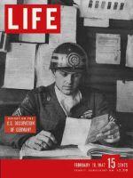 Life Magazine, February 10, 1947 - Occupied Germany