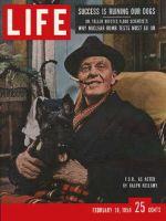 Life Magazine, February 10, 1958 - Bellamy as Franklin D. Roosevelt
