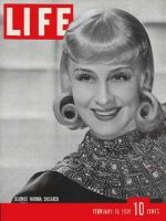Life Magazine, February 13, 1939 - Norma Shearer