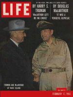 Life Magazine, February 13, 1956 - Truman and MacArthur