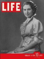 Life Magazine, February 14, 1938 - Egypt's queen