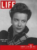 Life Magazine, February 16, 1948 - Joan Tetzel