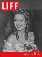 Life Magazine, February 17, 1941 - Cobina Wright Jr.