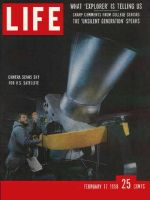 Life Magazine, February 17, 1958 - News from space