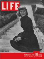 Life Magazine, February 18, 1946 - Dorothy McGuire