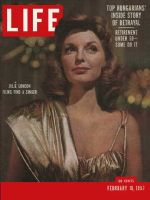 Life Magazine, February 18, 1957 - Julie London