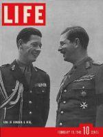 Life Magazine, February 19, 1940 - Romanian royalty