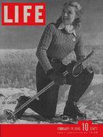 Life Magazine, February 19, 1945 - Ski styles