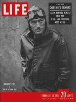Life Magazine, February 20, 1950 - Gregory Peck