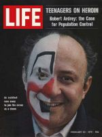 Life Magazine, February 20, 1970 - Architect turned clown