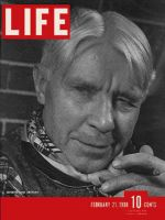 Life Magazine, February 21, 1938 - Carl Sandburg