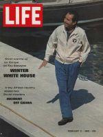 Life Magazine, February 21, 1969 - Richard Nixon in Florida