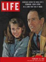 Life Magazine, February 22, 1960 - Jane and Henry Fonda