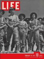 Life Magazine, February 24, 1941 - New Zealand's Anzac soldiers