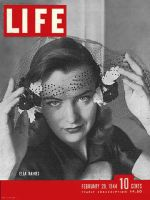 Life Magazine, February 28, 1944 - Ella Raines