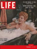 Life Magazine, February 28, 1955 - Shelley Winters