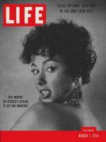 Life Magazine, March 1, 1954 - Rita Moreno