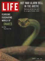 Life Magazine, March 1, 1963 - Snakes