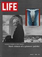 Life Magazine, March 1, 1968 - Georgia O'Keffe