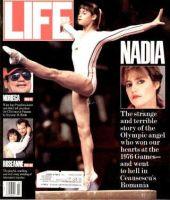 Life Magazine, March 1, 1990 - Nadia Comaneci