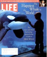 Life Magazine, March 1, 1996 - Freeing A Killer Whale