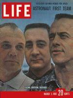 Life Magazine, March 3, 1961 - John Glenn, Virgil Grissom and Alan Shepherd