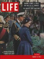 Life Magazine, March 4, 1957 - Royal reunion