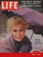 Life Magazine, March 5, 1956 - Kim Novak
