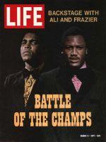 Life Magazine, March 5, 1971 - Muhammad Ali and Joe Frazier, boxing
