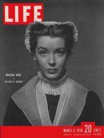 Life Magazine, March 6, 1950 - Marsha Hunt