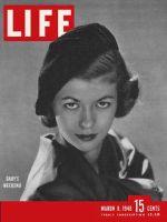 Life Magazine, March 8, 1948 - Woman wearing Beret