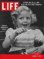 Life Magazine, March 8, 1954 - Arabella Churchill