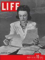 Life Magazine, March 10, 1941 - Washington workers