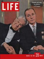 Life Magazine, March 10, 1961 - Maurice Chevalier and Bing Crosby