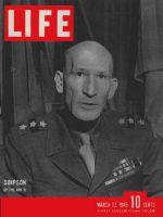 Life Magazine, March 12, 1945 - General Simpson