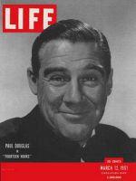 Life Magazine, March 12, 1951 - Paul Douglas