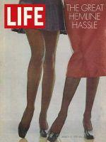 Life Magazine, March 13, 1970 - Hemlines in fashion