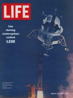 Life Magazine, March 14, 1969 - Lunar module on Apollo 9
